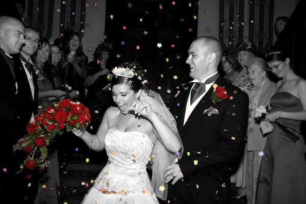 Colchester wedding confetti