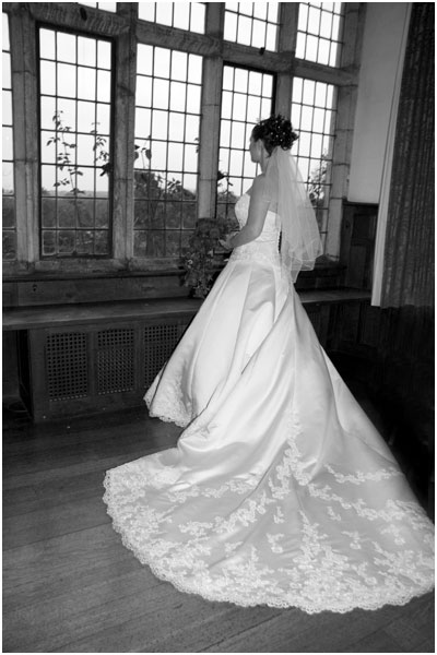 Chelmsford Wedding Photographer - bride at the window