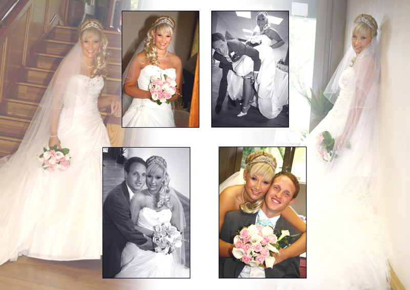 Bride and Groom - Essex wedding